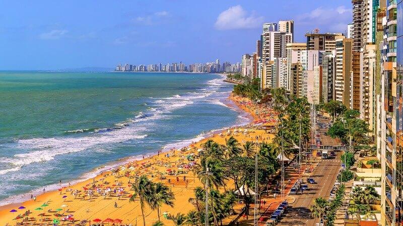 Praia Boa viagem Recife-PE